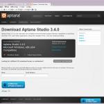 Aptana Studio 3 インストール記録 (本体編)